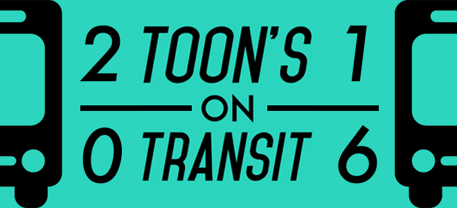 Toon's on Transit 2016