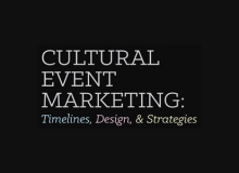 Workshop: Cultural Event Marketing – Saturday October 22nd