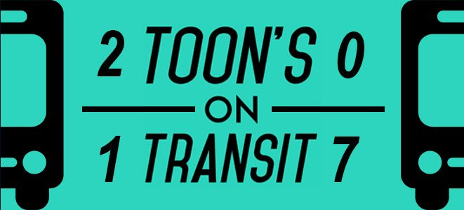 Toon's On Transit Finalists Selected!