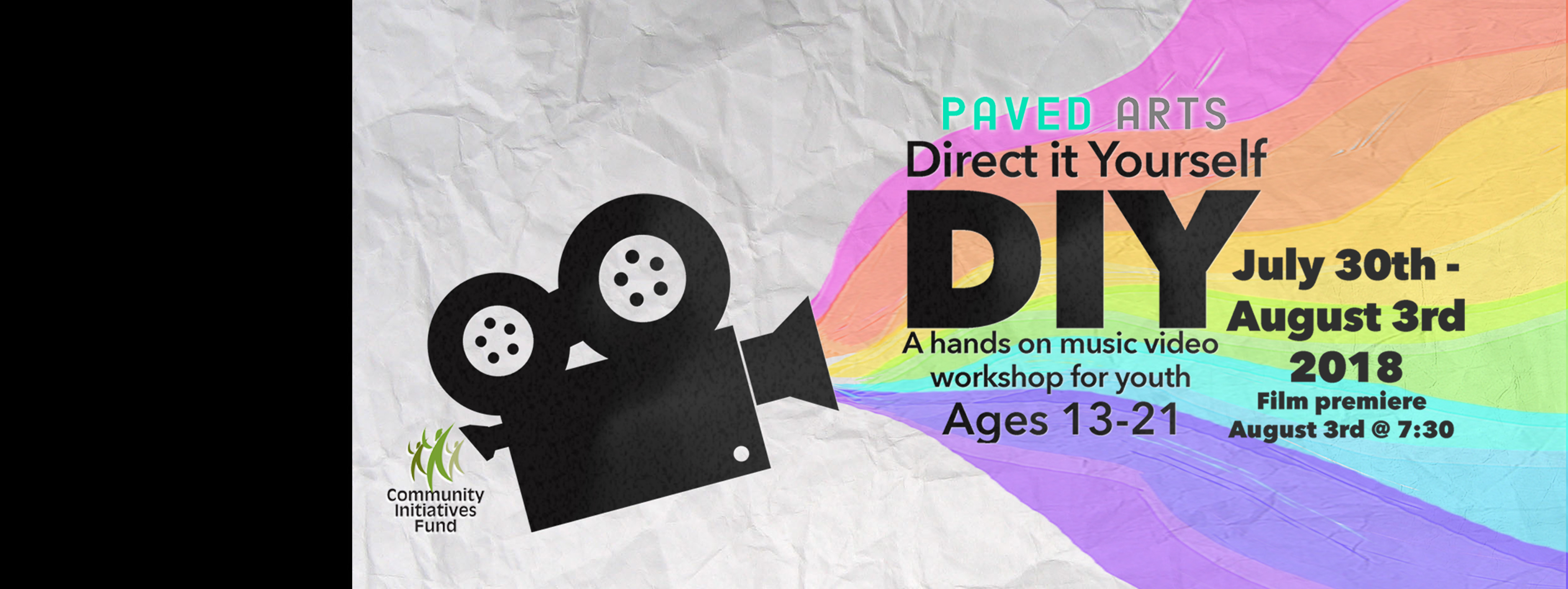DIY : Direct It Yourself, Music Video Camp for Youth