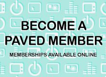 Become a PAVED Arts Member