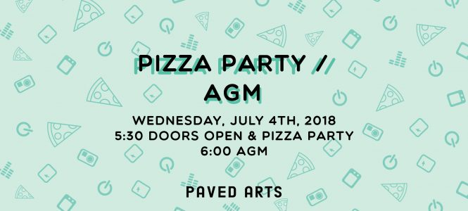 Pizza Party // Annual General Meeting