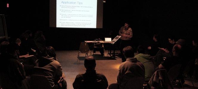 Fall 2012 Members Workshops