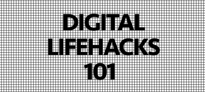 Production Centre Workshop: – Digital Lifehacks 101: Media Management and Organization Strategies