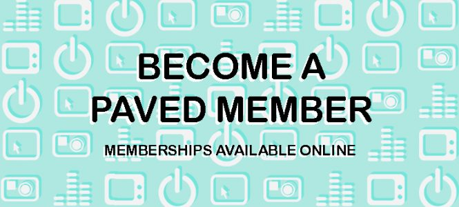 Become a Member of PAVED Arts today!