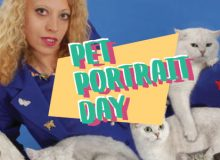 PAVED Arts' Pet Portrait Day
