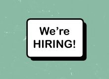 We're hiring a Community Projects Coordinator!