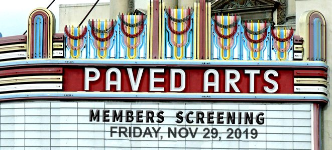 PAVED Arts Members' Screening
