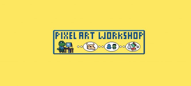 Online Pixel Art Workshop w/ Evan Todd-McCoy