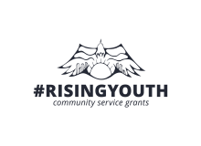 #RisingYouth Community Service Grants for Youth