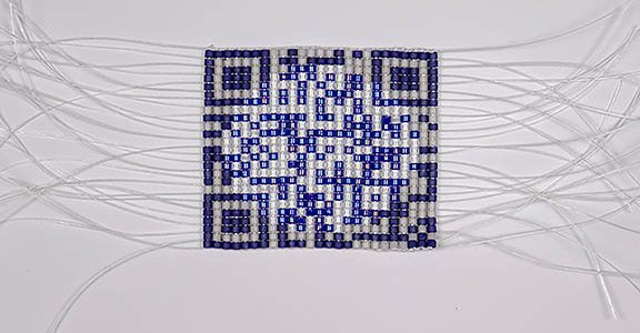 Beading a QR Code  w/ Carrie Allison
